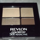 Revlon ColorStay 16 Hour Eye Shadow Quad * 500 ADDICTIVE * Brand New