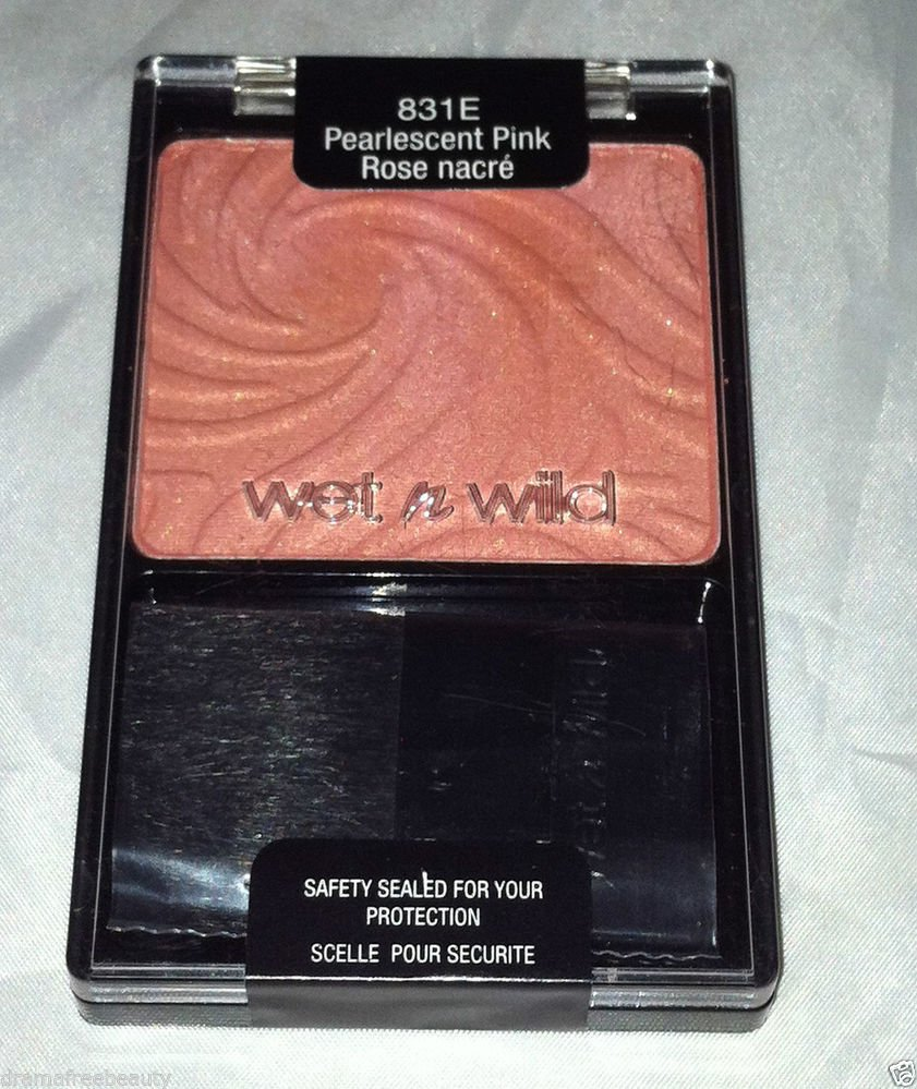 Wet n Wild Color icon Blusher  * 831E PEARLESCENT PINK * Blush Brand New Selaed