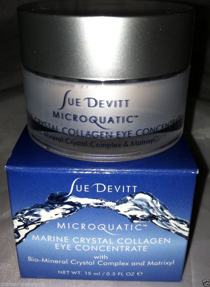 Sue Devitt Microquatic Marine Crystal Collagen Eye Concentrate $110 Full Sze NIB