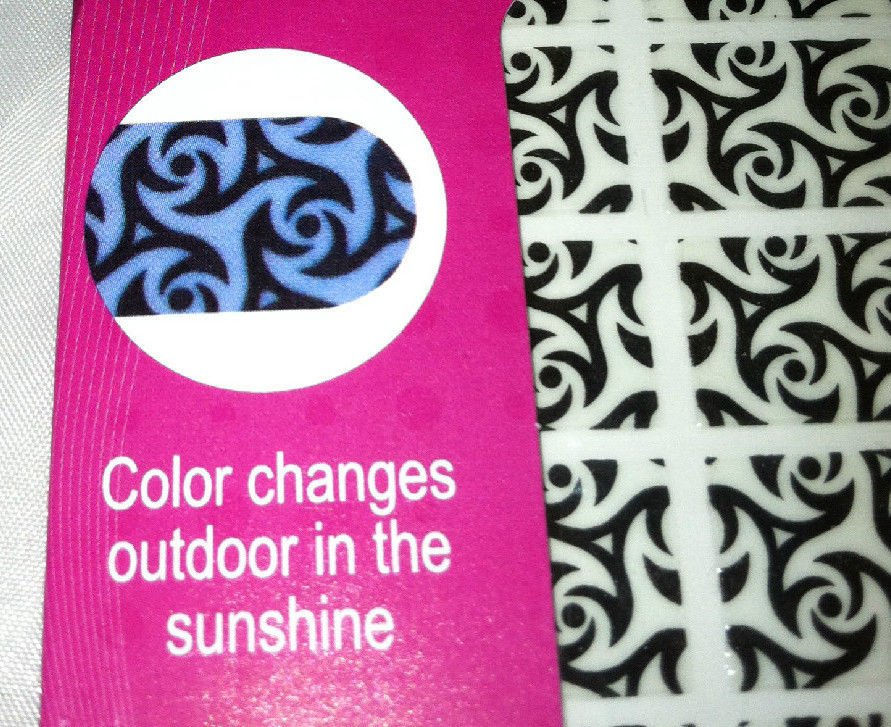 Color Changing Nail Strips / Autocollants 8 Colors/Styles Sealed New U-Choose