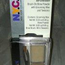 N.Y.C. Browser Brush-On Brow Powder with Grooming Wax & Tweezers Brow Powder...