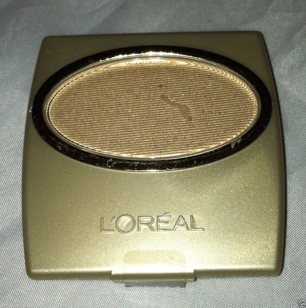 L'Oreal Wear Infinite Single Eye Shadow Perle * GLAMOUR GOLD * Sealed New