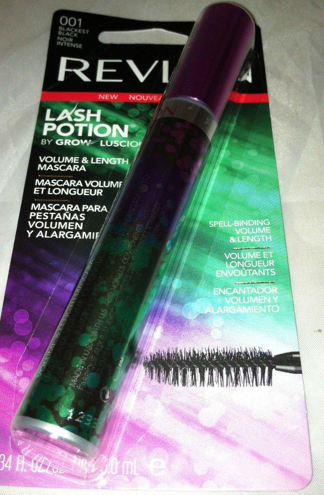 Revlon Lash Potion 001 Blackest Black Noir Intense Volume