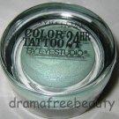 Maybelline COLOR TATTOO 24HR Cream Gel Eye Shadow Lmtd Ed. 30 *ICY MINT* Shimmer
