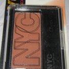 New York Color NYC Cheek Glow Powder Blush 653 *PARK AVENUE PLUM* Matte Mauve BN