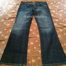 7 For All Mankind Bootcut Jeans Womens size 30 100% authentic U075055U-055U
