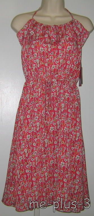 Sell one like this LIBERTY of LONDON Target Martha Grace *Red Floral Ruffle Hal
