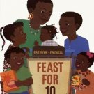 Feast for 10 by Cathryn Falwell (2003, Board Book)
