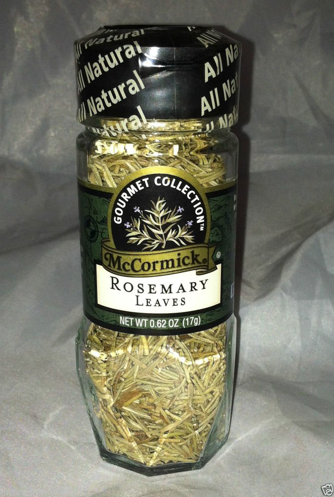 McCormick Gourmet Collection * ROSEMARY LEAVES * All Natural Sealed Brand New