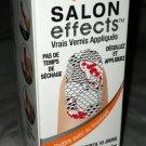 Sally Hansen Salon Effects Nail Polish Strips *DON'T BE KOI* Fish Red/Black BNIB