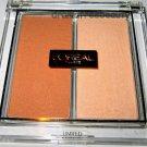 L'oreal Lmt Ed. Illuminating Highlighter Blush Duo *LUMINOUS PEACH* Nude Glow BN