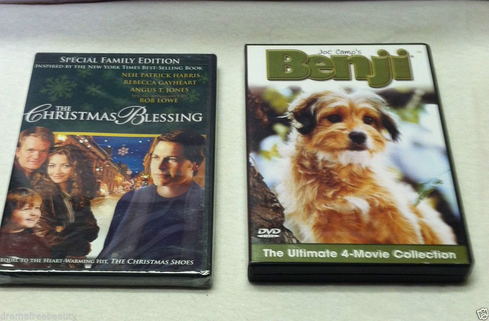The Christmas Blessing & Benji 4-Movie Collection Benjis Very Own Christmas LQQK