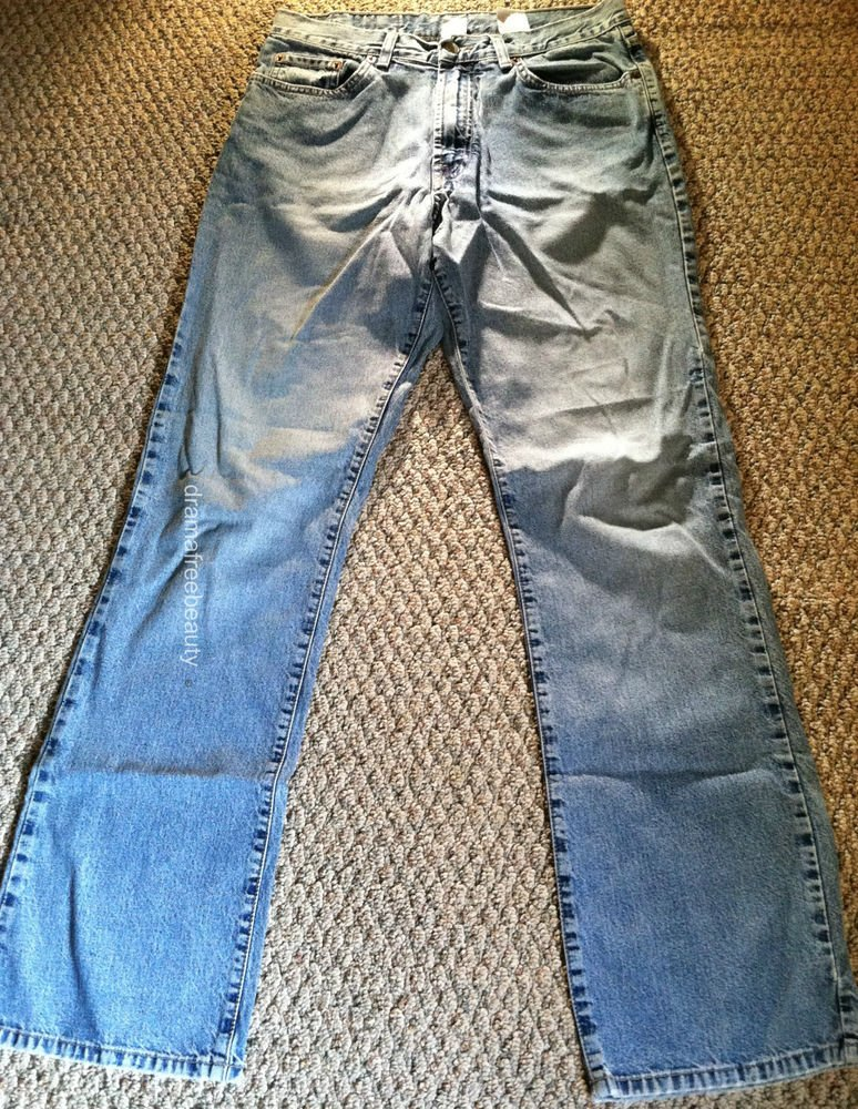 Lucky Brand womens size 12/31 Low Rise Flare Lightly used Style MO8610X
