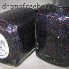Pure Ice Limited Edition Nail Polish *FIVE-SOME* Black w/Multi-Color Glitters BN