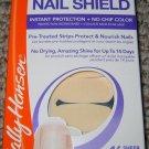 Sally Hansen 14 Day NAIL SHIELD Pre-Treated Strips Protect Nourish *SHEER NUDE*