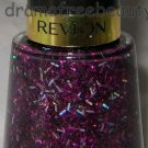 BN Revlon Lmt SPARKLE Nail Polish *BRILLIANT BORDEAUX* Black Purple Holo Glitter