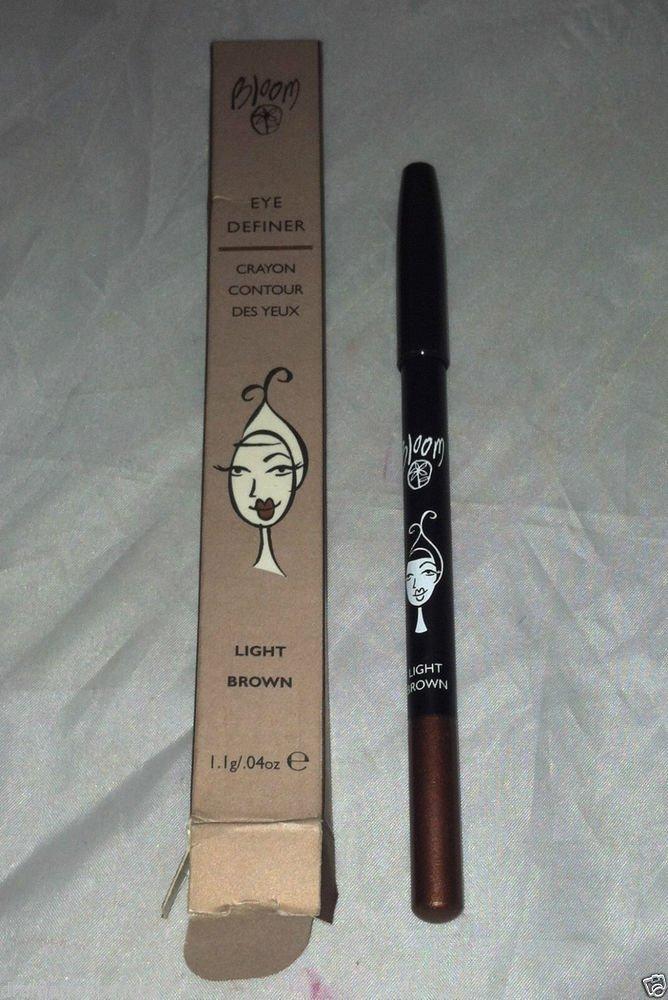 Bloom Eye Definer Crayon * LIGHT BROWN * Eye Liner Smooth Texture Aloe Vera BNIB