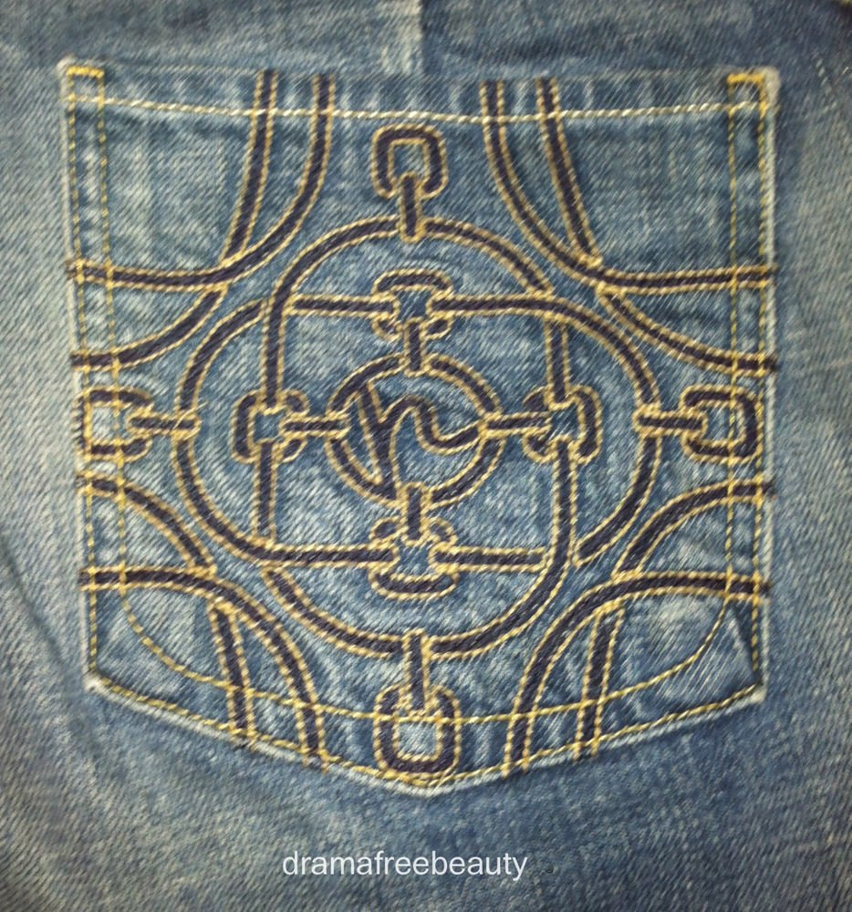 Citizens Of Humanity *Stretch Jeans Size 31* Wide Leg Flare Chain Link Pockets