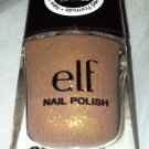 Elf Nail Polish * GLAMOUR GIRL * Beige with Gold Shimmer  Sealed Brand New
