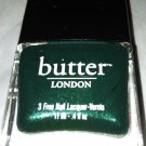 Butter London Nail Lacquer Polish *BRITISH RACING GREEN* Dark Emerald Shimmer BN