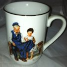 Authentic Norman Rockwell Vintage Coffee Cup * THE LIGHTHOUSE KEEPER'S DAUGHTER*