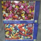 2 Puzzlebug 500 Pieces *LICORICE CANDY & SWIRLS AND TWIRLS* Puzzle Lot Sealed BN