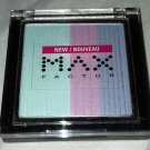 Max Factor Trio Eye Shadow * 260 PAJAMA PARTY * Bright Colors Long Wear New