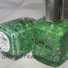 Pure Ice Nail Polish *SHEER LUCK* Green Glitters & Holo Teal/Silver Diamonds BN