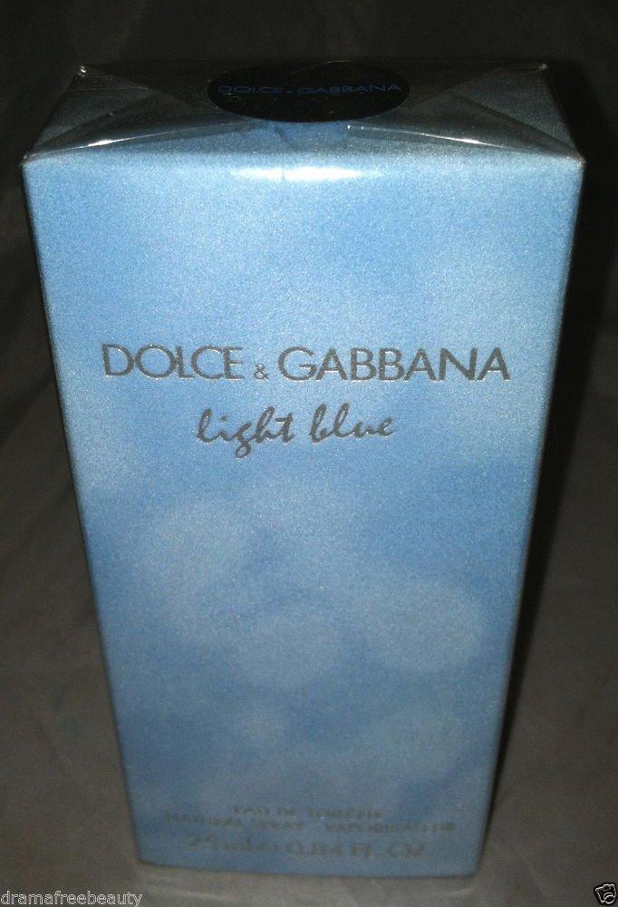 Dolce & Gabanna Eau De Toilette *LIGHT BLUE* 25ml/.84oz. Spray BN w/Box & Sealed