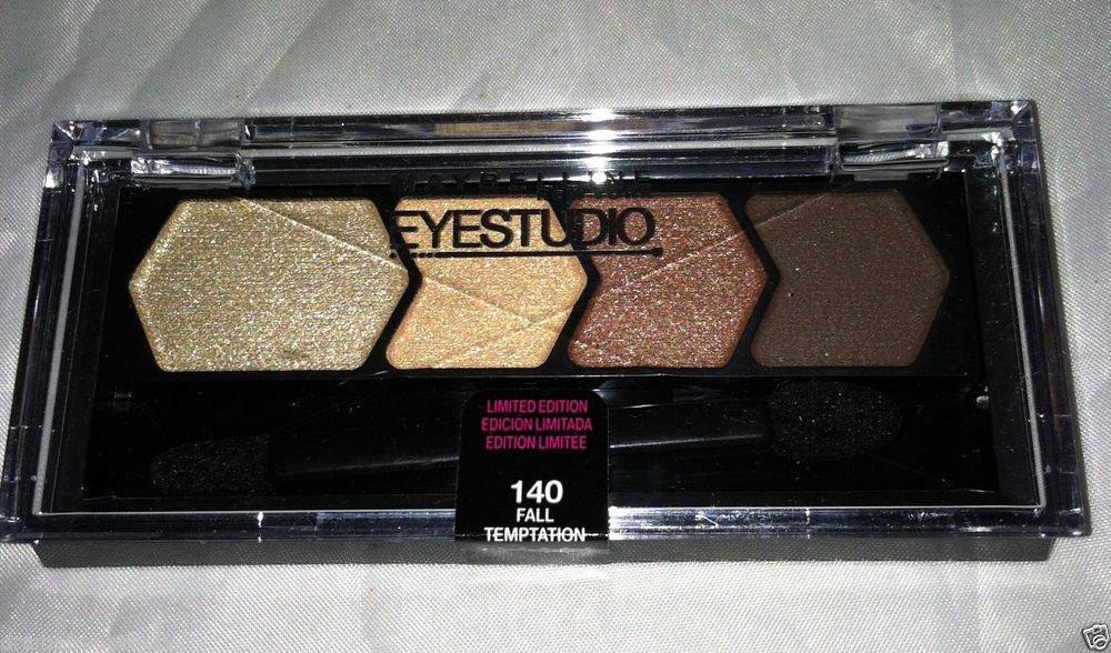 Maybelline EyeStudio Eyeshadow Quad 140 *FALL TEMPTATION* Limited Edition Sealed