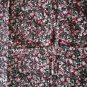 Floral Print with Hidden Skulls Knit Stretch Cotton Type Material 1.5 X 1.5 yard