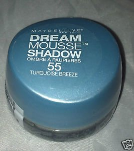 Maybelline Dream Mousse Eye Shadow * 55 TURQUOISE BREEZE * Brand New Sealed