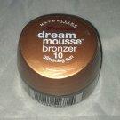 Maybelline Dream Mousse Bronzer * 10 GLISTENING SUN * Sealed Brand New!