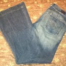 Citizens of Humanity Womens Stretch Jeans Size 30 Full Leg Low Waist Kate #066