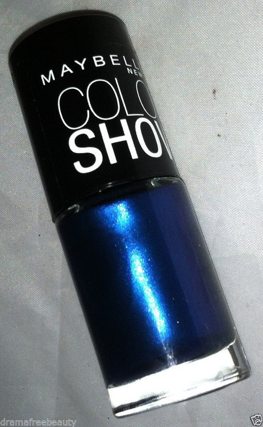 Maybelline Limited Edition Color Show Nail Polish 945 *BLAST OF BLUE* Brand New