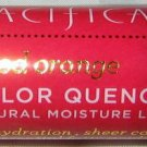 Pacifica Color Quench Natural Lip Tint Balm *BLOOD ORANGE* Coral Pink Glow BNIB