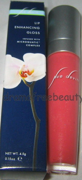 Sue Devitt Lip Enhancing Gloss *CORAL SANDS* Rich Pink Coral *Brand New in Box*