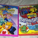 The Care Bears Movie / The Wiggles * Splish Splash Big Red Boat * 2pc DVD Lot