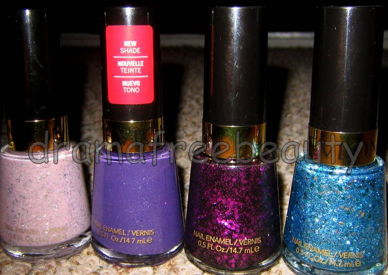 Revlon Lmt Ed Nail Polish Expressionists & Masquerade Collection *w/Hex Glitter*
