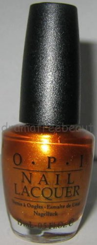 OPI Holiday Nail Lacquer Polish *LEGS CELEBRATE* Metallic Gold Amber Bronze Shmr