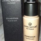 New Zealand LIVING NATURE Organic Foundation *PURE TAUPE* Brand New in Box