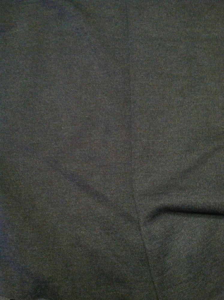 Solid Dark Gray Sewing Fabric Knit Cotton Stretch Jersey Material 1.5-yrd X 1yrd