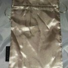 SEPHORA Golden Champagne Cosmetic / Makeup Carrying /Bag /Pouch 2pc Lot  8X11