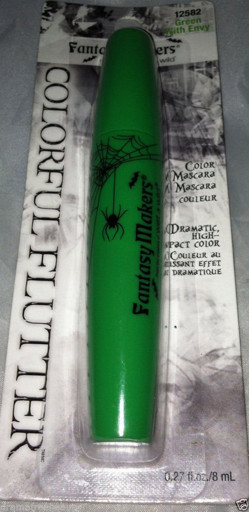 BNIP Wet n Wild Limited Edition Fantasy Makers Colored Mascara *GREEN WITH ENVY*