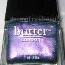 Butter London Nail Lacquer Polish *KNACKERED* Purple Teal Duochrome Holo Shimmer