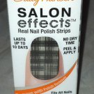 Sally Hansen Salon Effects Nail Polish Strips * 550 TWEED-LE DEE * Plaid Pattern