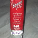 Wet N Wild Speed Gloss Energizing Lip Shine Gloss * 949 CHAOTIC * Sealed New