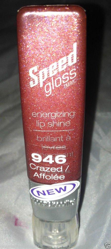 Wet N Wild Speed Gloss Energizing Lip Shine Gloss * 946 CRAZED * Sealed New