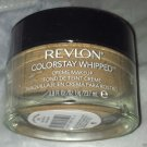 Revlon ColorStay Whipped Crème Makeup 24 Hour Foundation * 370 NATURAL TAN * New