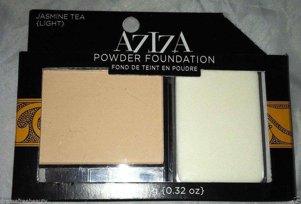 AZIZA Powder Foundation * JASMINE TEA ( LIGHT) * Brand New Cream to Powder